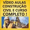 CONSTRUÇÃO , ARQUITETURA E ENGENHARIA CIVIL- CURSO Completo em Vídeo